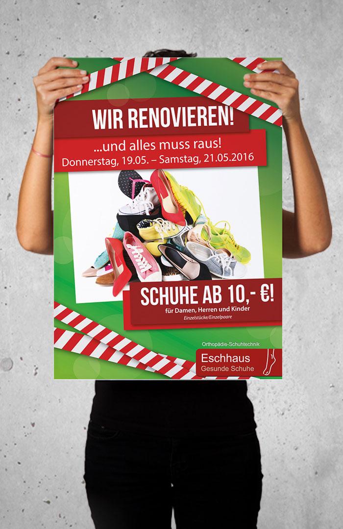 Eschhaus Plakat