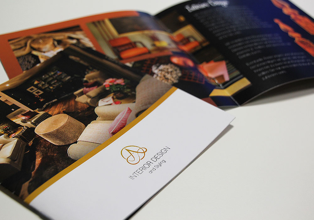 Interior Design Broschüre