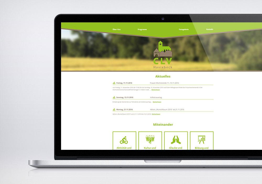 CLV Havixbeck Webseite